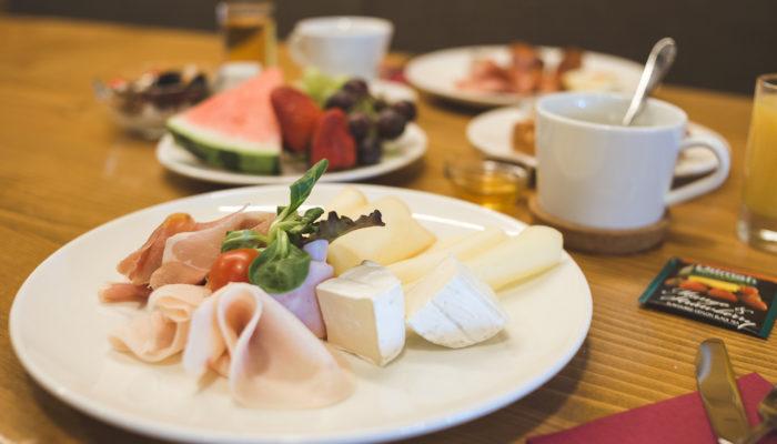 snídaně hotel Kristian